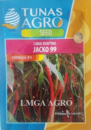 Benih Cabe Jacko 99, Benih Cabai Keriting Jacko 99, LMGA AGRO, Harga Murah