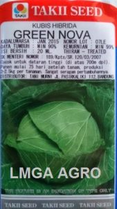 Kubis Green Nova, Kol Green Nova, Jual Kol Green Nova, Takii Seed, Harga Murah, Terbaru, Benih Kubis, Lmga Agro