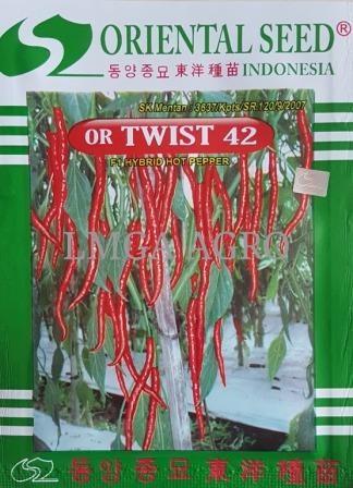 CABAI OR TWIST 42, BENIH CABAI KERITING TWIST 42, TWIST 42 MURAH, HARGA MURAH, LMGA AGRO