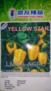Paprika Yellow Star, Jual Cabe Yellow Star, Paprika Yellow Star, Paprika Yellow Star Promo, Harga Murah, Terbaru, Lmga Agro