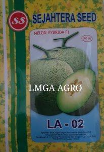benih melon F1 LA-02, ANTI VIRUS, SEJAHTERA SEED, HARGA MURAH, LMGA AGRO