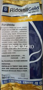 FUNGISIDA RIDOMIL GOLD MZ4/64WG