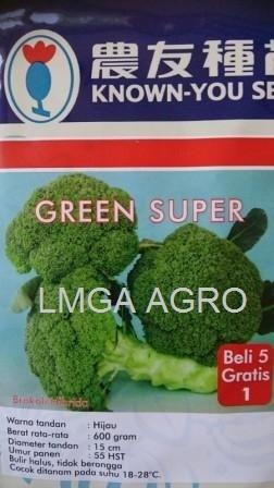 Brokoli Green Super, Benih Brokoli Green Super, Green Super Jual Brokoli Green Super, Known You Seed, Harga Murah, Terbaru, Benih Brokoli Dan Bunga Kol, Lmga Agro