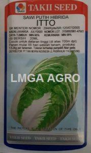 Sawi Putih Itto, Sawi Itto, Chinese Cabbage Itto, Takii Seed, Harga Murah, Lmga Agro, Benih sawi dan Selada
