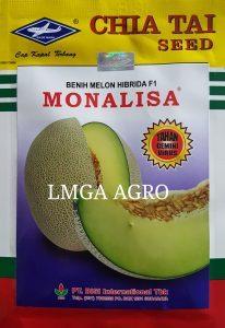 Jual Bibit Melon Monalisa F1-Chia Tai Seed-Cap Kapal Terbang