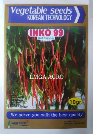 Cabe F1 Inko 99, Cabe Inko 99, Cabe Keriting Inko Seed, Cara Menanam Cabe Inko 99, Cabe Keriting Inko 99, Cabe F1 Inko 99, LMGA AGRO