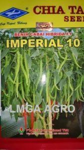CABAI IMPERIAL 10, BENIH CABAI BESAR IMPERIAL 10, ANTI VIRUS, HARGA MURAH,LMGA AGRO