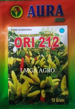 Jual Benih Cabe Rawit ORI 212 Aura Seed Harga Promo