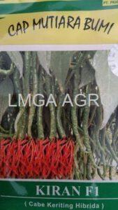 kiran, cabai kiran, benih cabai, cabai keriting, benih cabai keriting, mutiara benih, lmga agro, toko pertanian, jual benih
