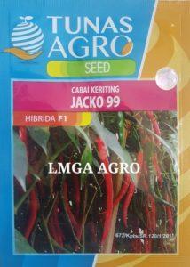 JUAL BENIH CABE KERITING JACKO 99 TUNAS AGRO