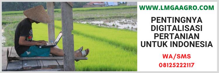 digitalisasi, pertanian, indonesia, sistem