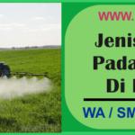Jenis Pestisida Pada Pertanian Di Indonesia