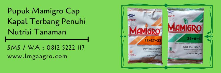 Jual Pupuk Mamigro Murah Cap Kapal Terbang Penuhi Nutrisi Tanaman