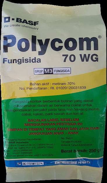 fungisida polycom,fungisida padi,budidaya padi