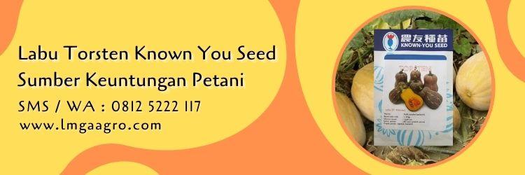 Jual Labu Torsten Known You Seed Sumber Keuntungan Petani